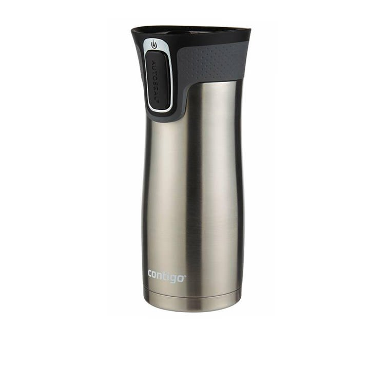 Contigo Westloop Autoseal Travel Mug 473ml Stainless Steel