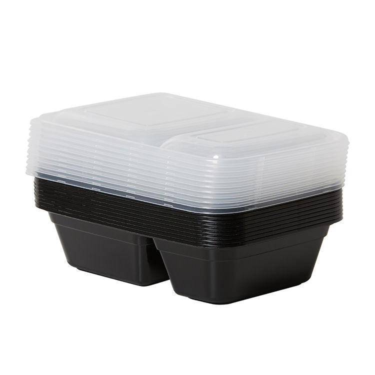 Cook's Choice 2 Compartment Meal Prep Container 900ml 10pk