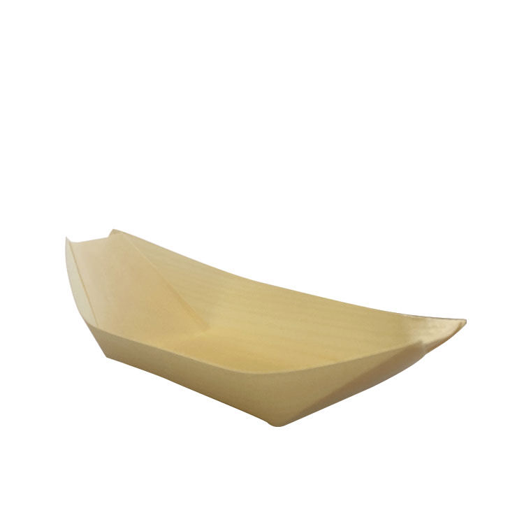 Cook's Choice Bamboo Cocktail Boat 16x9cm 6pk