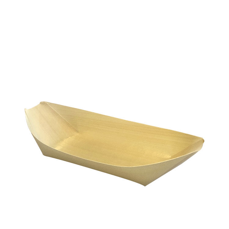 Cook's Choice Bamboo Cocktail Boat 22x11cm 4pk