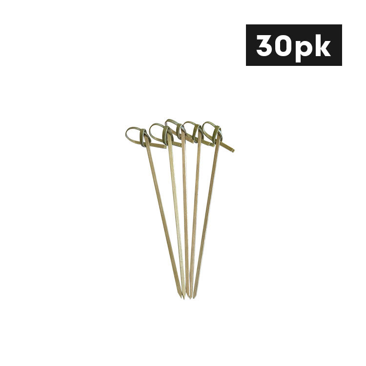 Cook's Choice Bamboo Skewer with Knot 12cm 30pk