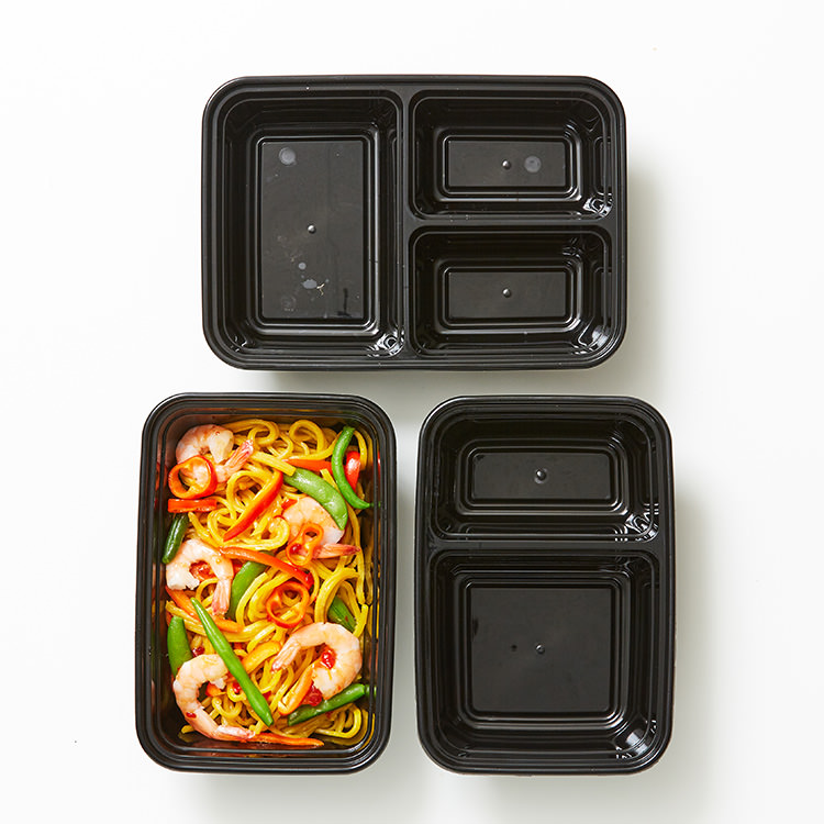 Cook's Choice 3 Compartment Meal Prep Container 1.2L 10pk