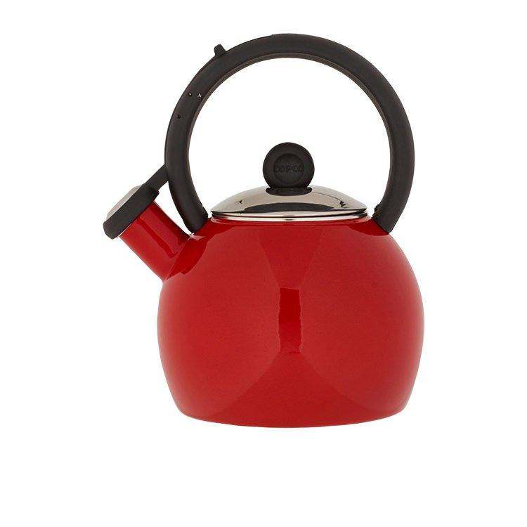 Copco Vienna Enammelled Tea Kettle 1.3L Red