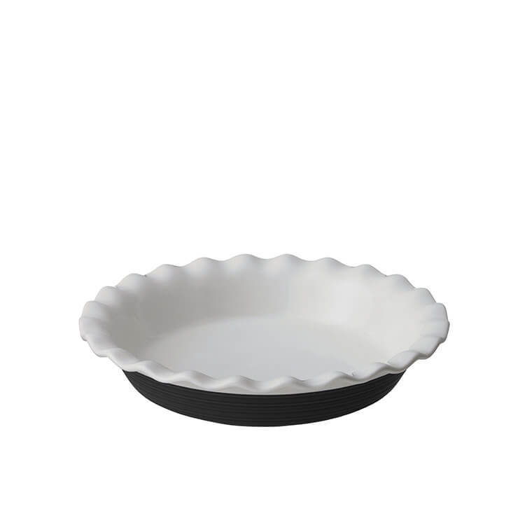 Corningware Etch Pie Plate 24cm  Rustic Black