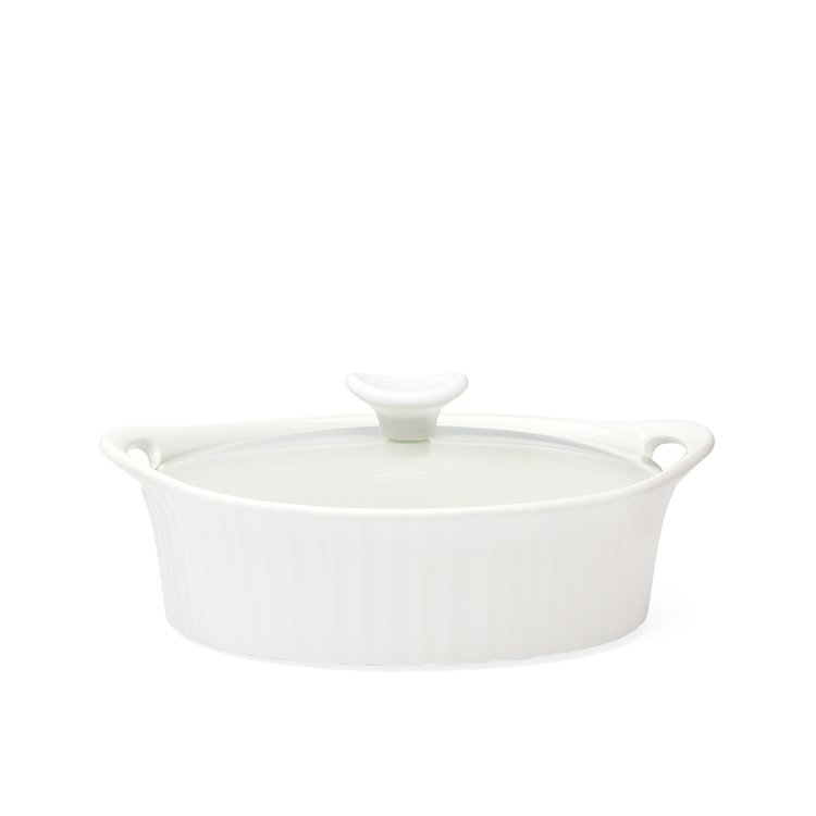 Corningware French White Oval Casserole 1.4L