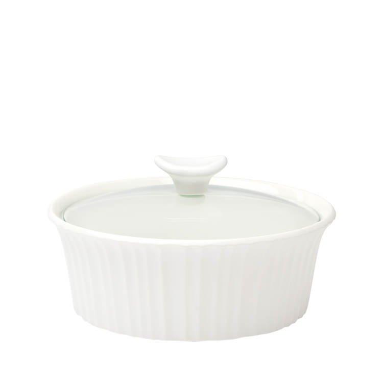 Corningware French White Round Casserole 1.4L