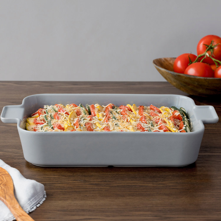 Corningware Modern Rectangular Deep Baker 23x33cm Ash Grey