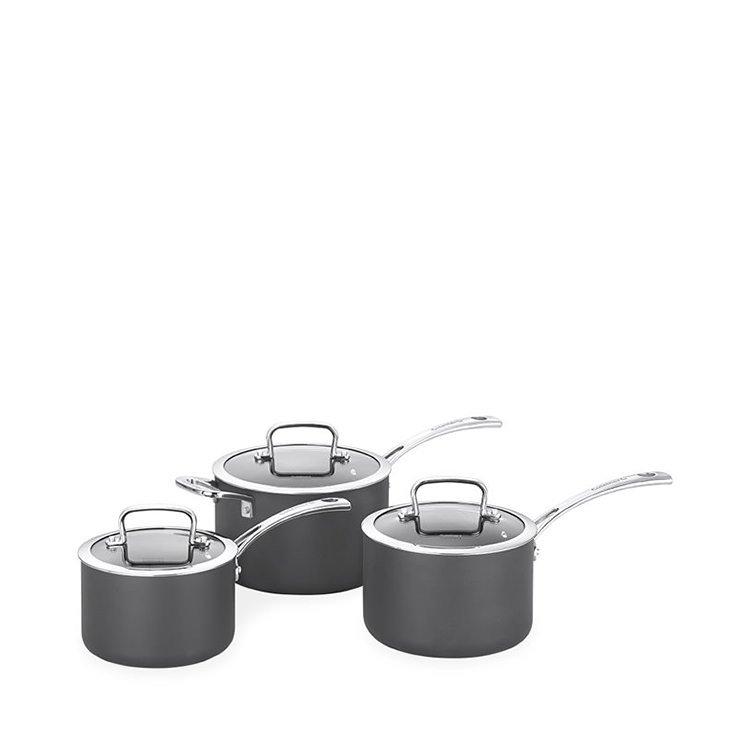 Cuisinart Chef iA+ 3pc Saucepan Set