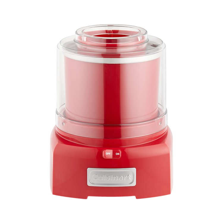 Cuisinart Ice Cream & Frozen Yoghurt Maker 1.5L Red