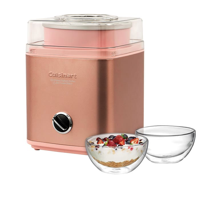 Cuisinart Ice Cream & Frozen Yoghurt Maker 2L Rose Gold