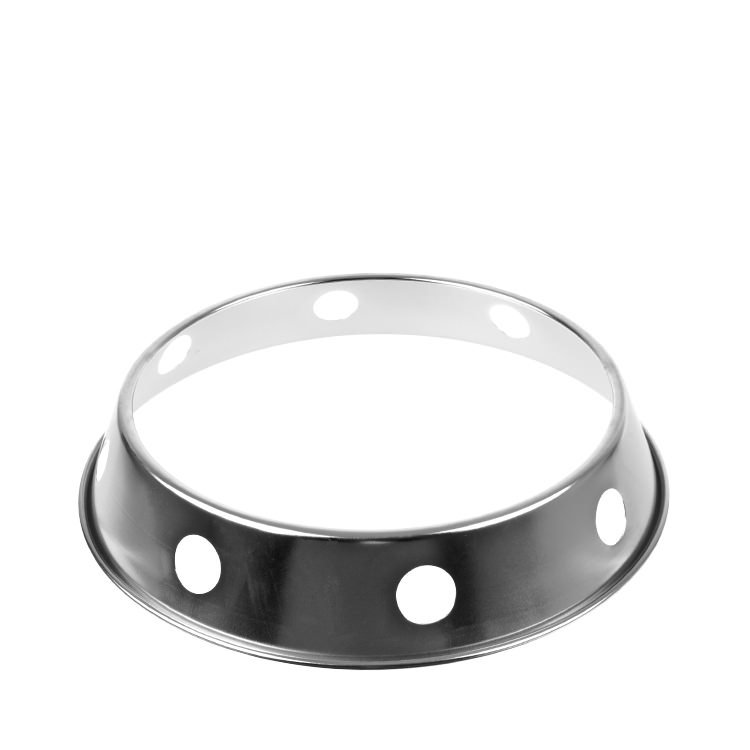 D.Line Chrome Plated Steel Wok Ring