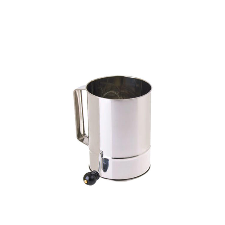 Daily Bake Flour Sifter Stainless Steel 5 Cup