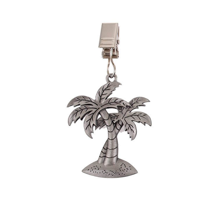 D.Line Pewter Tablecloth Weights Tropical Set of 4 image #2