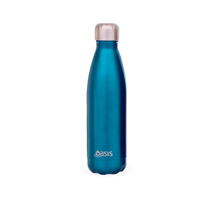 D Line Oasis Insulated Drink Bottle 500ml Aqua Buy Now