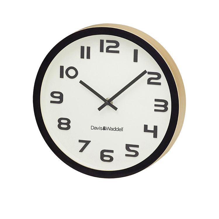 Davis & Waddell Essentials Logan Wall Clock