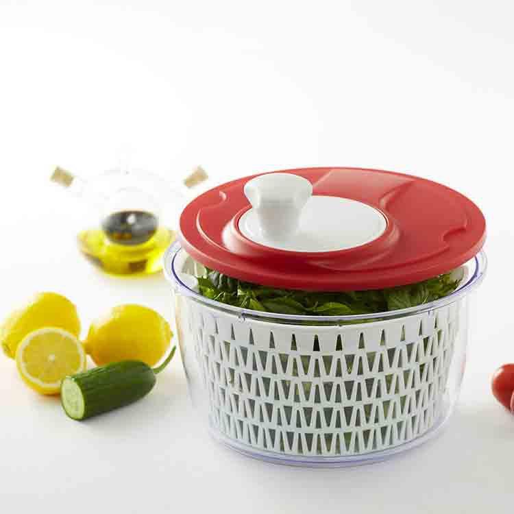 Davis & Waddell Fresh Salad Spinner Red