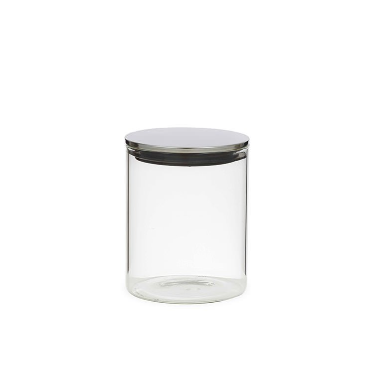Davis & Waddell Glass Canister w/ Stainless Steel Lid 800ml