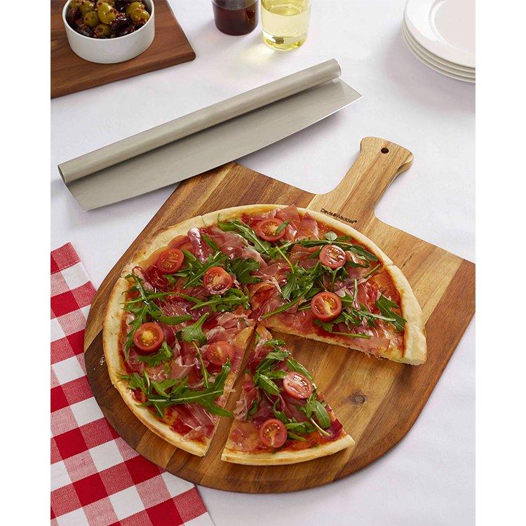 Davis & Waddell Napoli Acacia Pizza Peel & Cutter