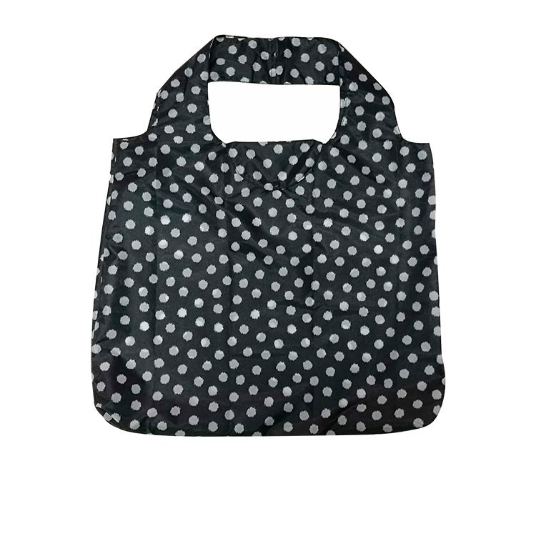 Davis & Waddell Reusable Bag 54x44cm Black Dots