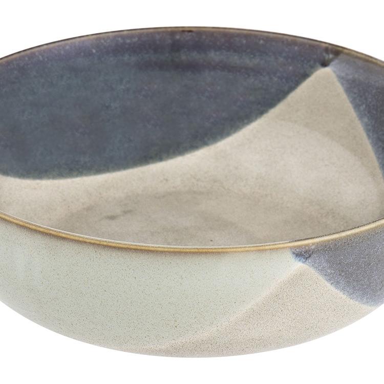 Davis & Waddell Ritual Serving Bowl 26x9cm Green/Blue
