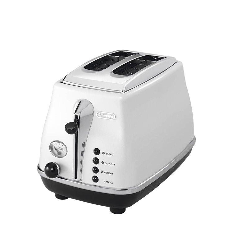 DeLonghi Icona 2 Slice Toaster White