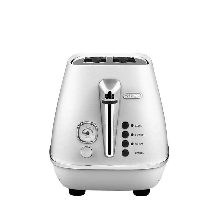 Delonghi Distinta 2 Slice Toaster White