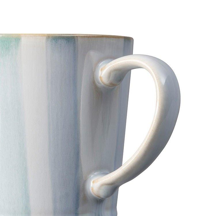 Denby Hand-Painted Mug 400ml 400ml Blue Stripe