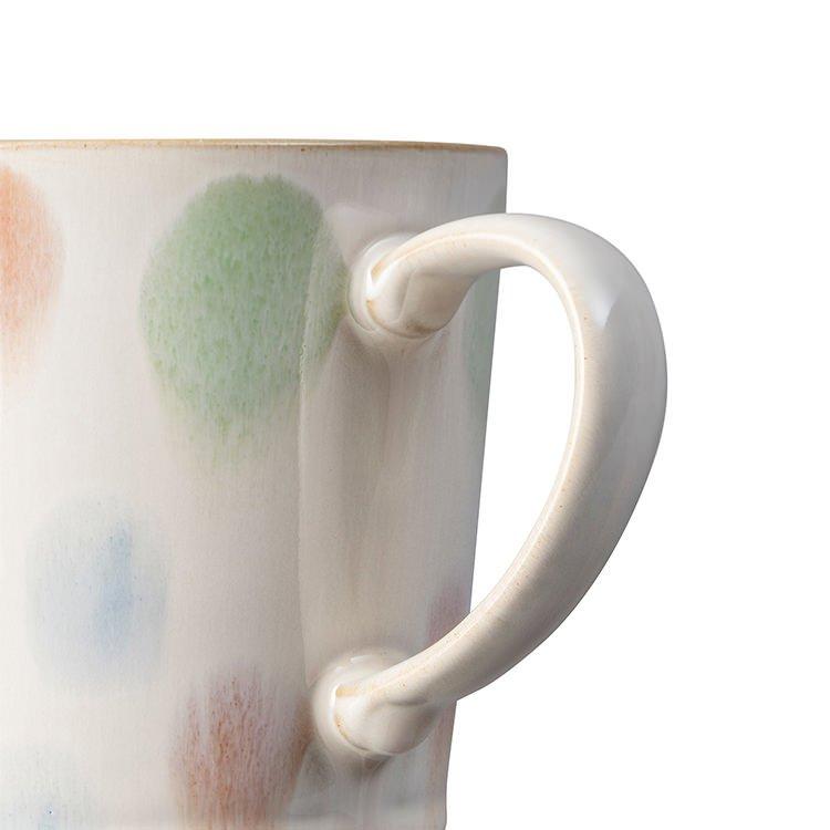 Denby Hand-Painted Mug 400ml Multi Spot