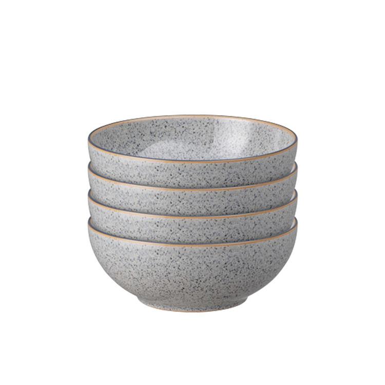 Denby Studio Grey Cereal Bowl 17cm Set of 4
