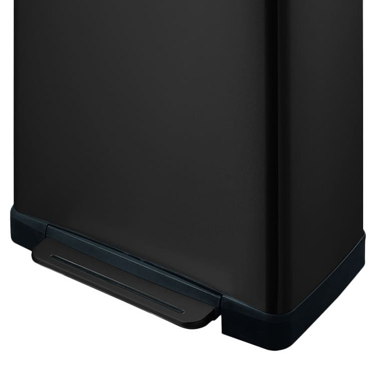 EKO E-Cube Step Can Recycling 28L+18L Matte Black