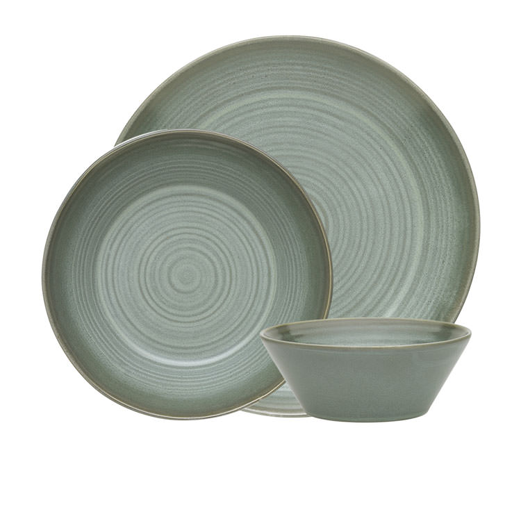 Ecology Arc  Dinner Set 12pc Aloe