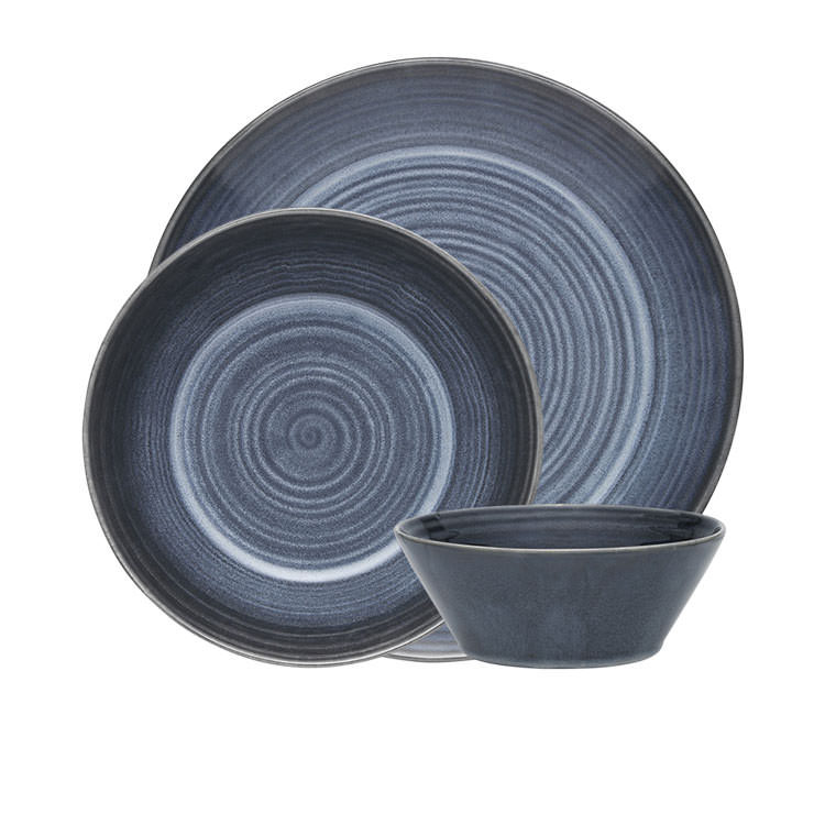 Ecology Arc  Dinner Set 12pc Indigo