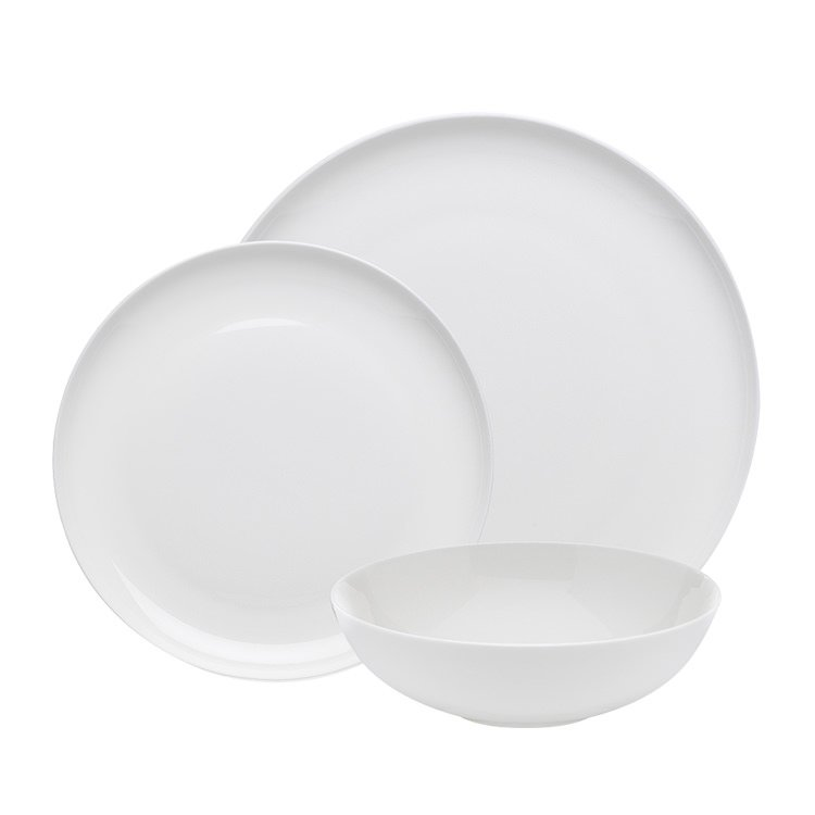 Ecology Canvas Dinner Set 12pc White