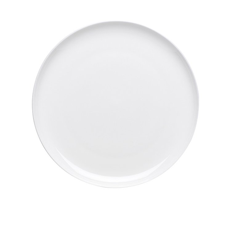 Ecology Canvas White Dinner Plate 27cm