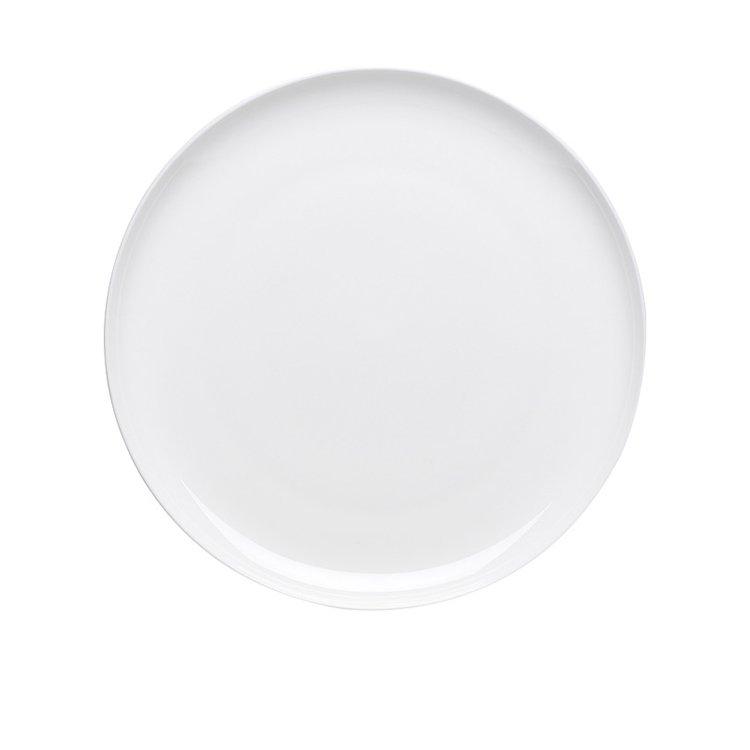 Ecology Canvas Dinner Plate 27cm White