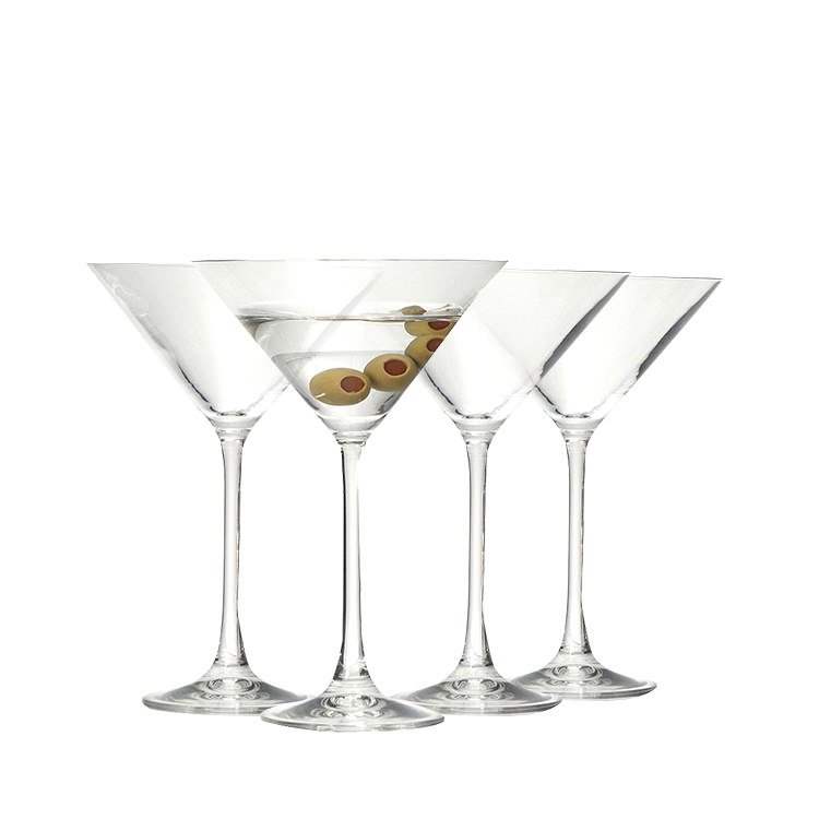 Ecology Classic 4pc Martini Set 210ml