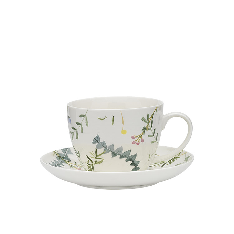 Ecology Greenhouse Cup & Saucer 430ml