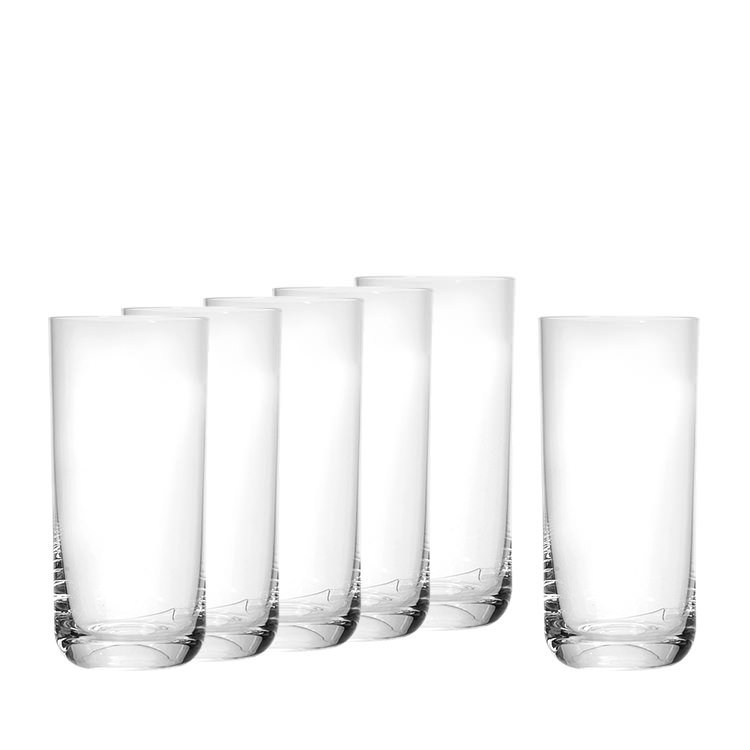 Ecology Hi Ball Tumbler 430ml Set of 6
