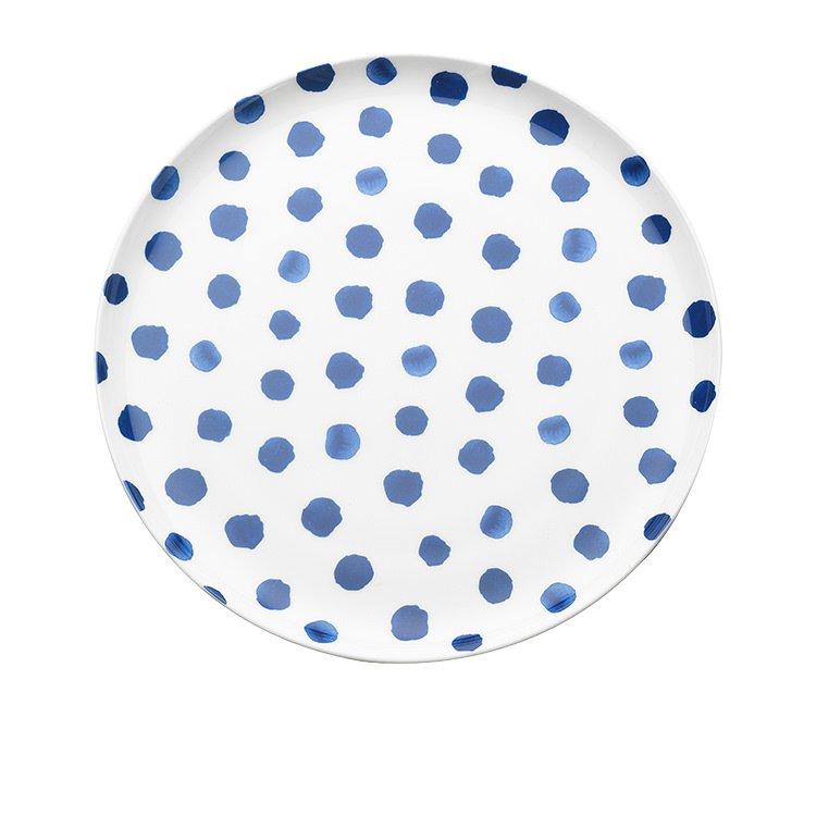 Ecology Indigo Downpour Dinner Plate 27cm