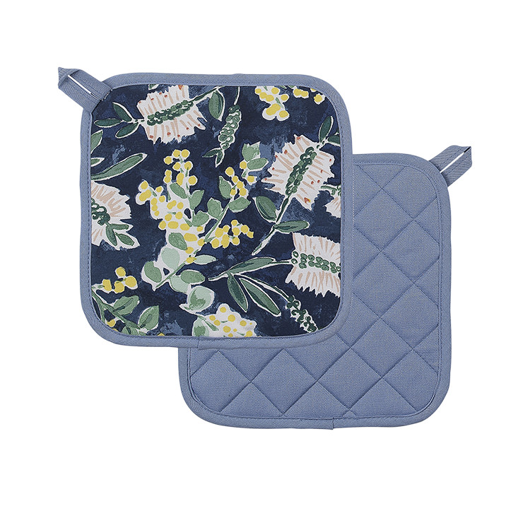 Ecology Kallista Pot Holders 2pc Blue