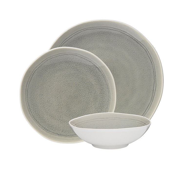 Ecology Linea Mineral Dinner Set 12pc