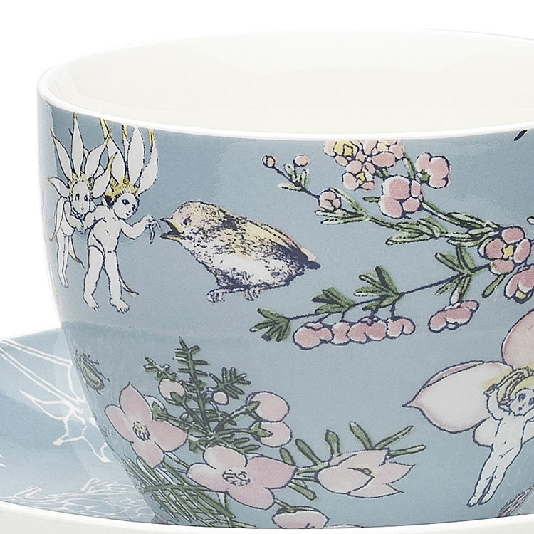 Ecology May Gibbs Cup & Saucer 430ml Flower Babies - Meadow