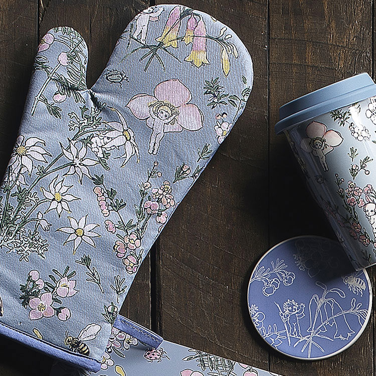 Ecology May Gibbs Oven Glove Flower Babies