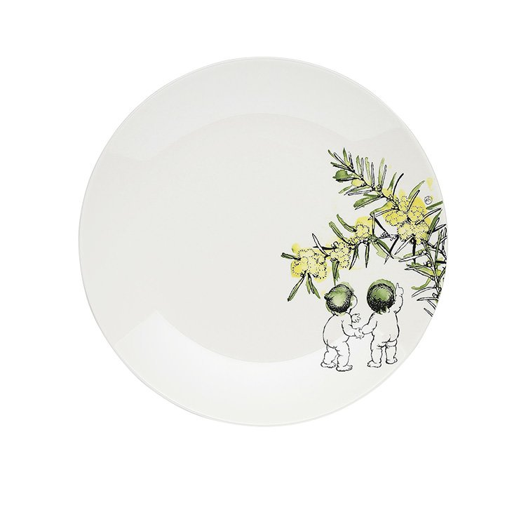 Ecology May Gibbs Side Plate 20cm Wattle