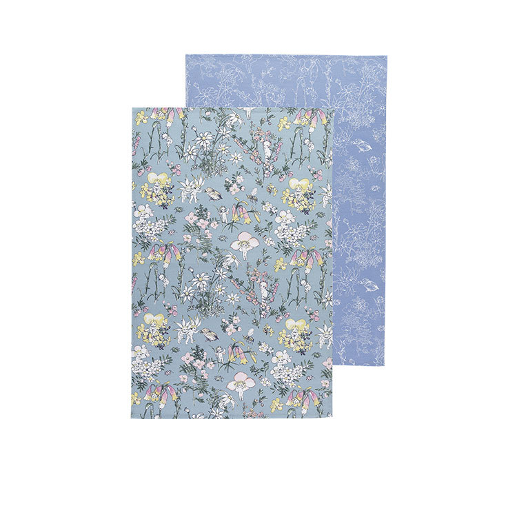 Ecology May Gibbs Tea Towels Set of 2 Flower Babies