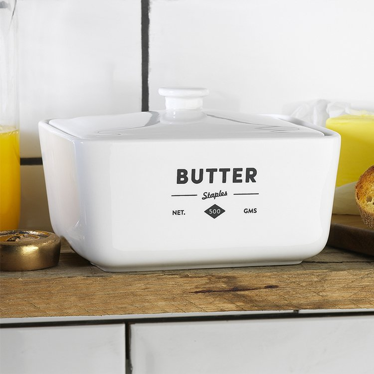 Ecology Staples Foundry Butter Dish image #2