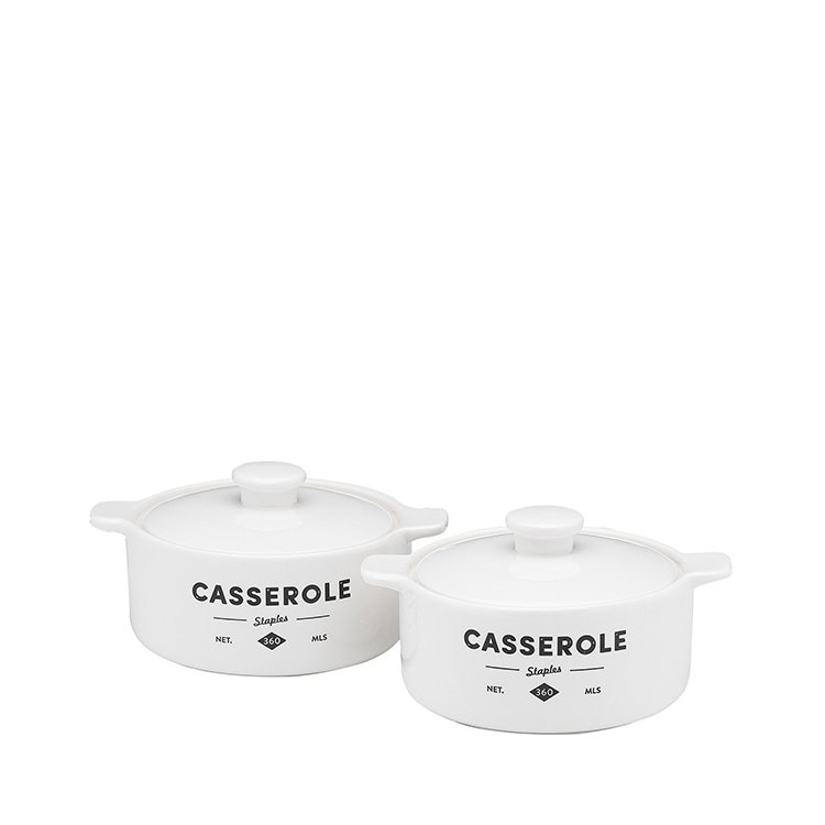 Ecology Staples Foundry Mini Casseroles Set of 2