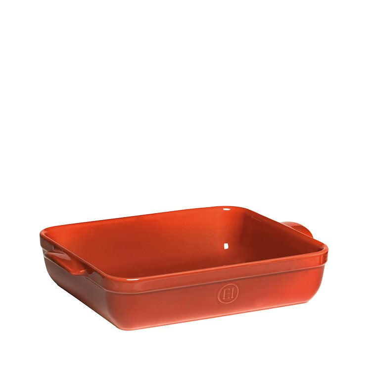 Emile Henry Rectangular Baking Dish 35cm Red Brick