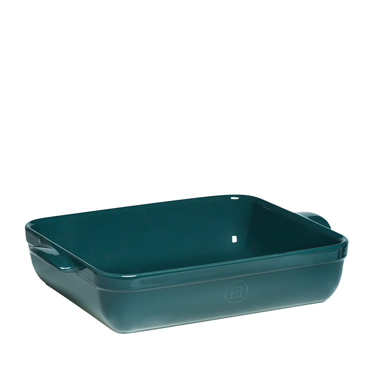 Emile Henry Rectangular Baking Dish 42.5 x 28cm Blue Flame