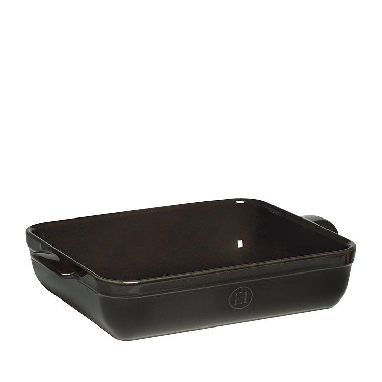 Emile Henry Rectangular Baking Dish 42.5 x 28cm Charcoal